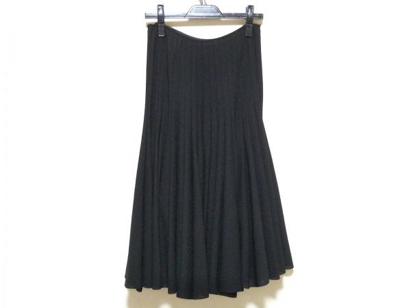 コムデギャルソンジュンヤワタナベ スカート サイズS レディース美品  黒 プリーツ