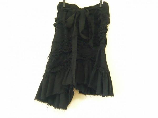 タオコムデギャルソン スカート サイズSS XS レディース 黒 巻きスカート風