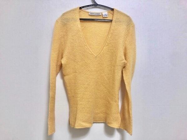 autumn cashmere(オータムカシミヤ) 長袖セーター サイズS レディース ライトブラウン