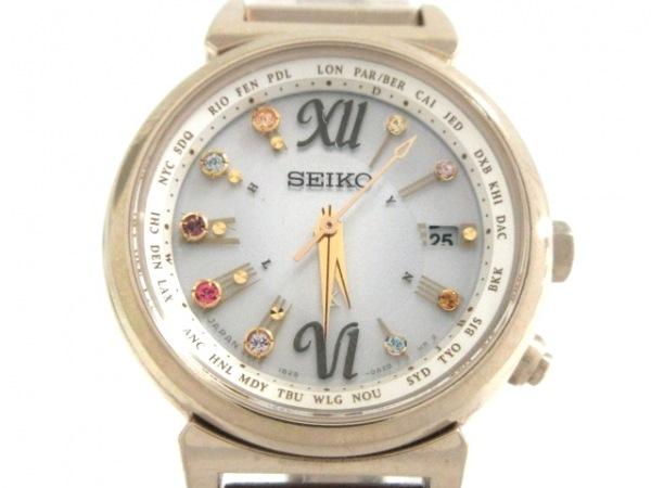 SEIKO(セイコー) 腕時計 ルキア 1B25-0AN0 レディース シルバー