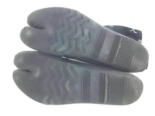 SOU・SOU(ソウソウ) 靴 27 メンズ美品  ネイビー×白 足袋 コットン