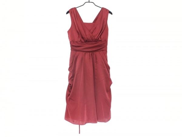 La Defence(ラデファンス) ドレス サイズ11 M レディース ボルドー カシュクール