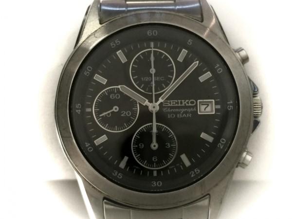 SEIKO(セイコー) 腕時計 7T92-0DM0 メンズ 黒