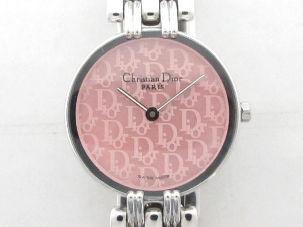 ディオール 腕時計美品  バキラ D44-120 レディース シェル文字盤 ピンク