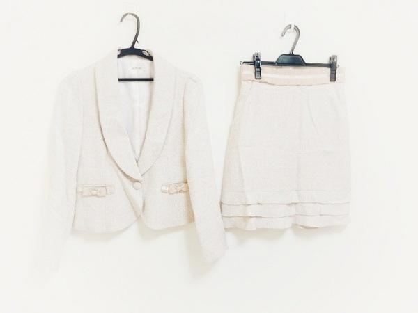 petitpoudre(プチプードル) スカートスーツ サイズ9 M レディース新品同様  ピンク