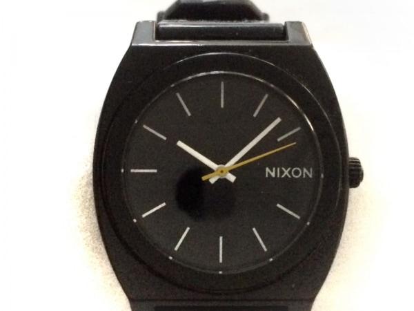 NIXON(ニクソン) 腕時計 MINIMAL - レディース ラバーベルト 黒