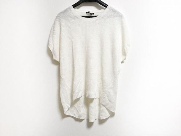 セオリー 半袖セーター サイズS レディース アイボリー シースルー/サマーセーター