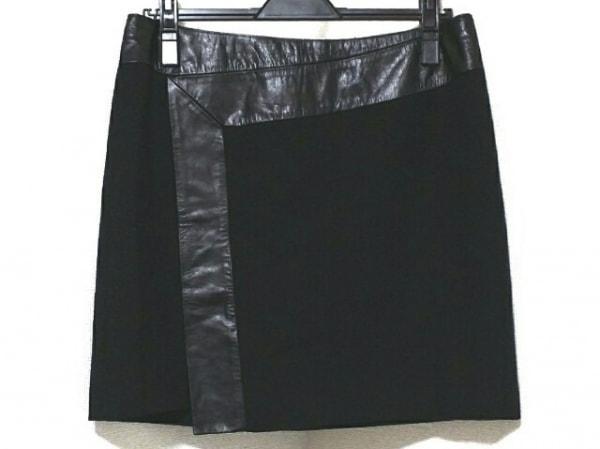 TED BAKER(テッドベイカー) ミニスカート サイズ3 L レディース美品  黒