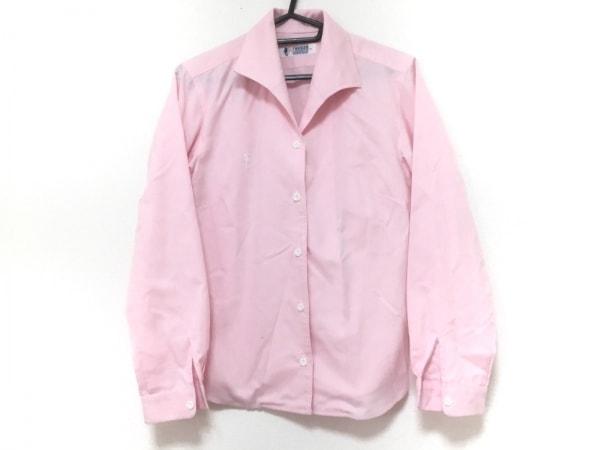 FUKUZO(フクゾー) 長袖シャツブラウス サイズS レディース新品同様  ピンク