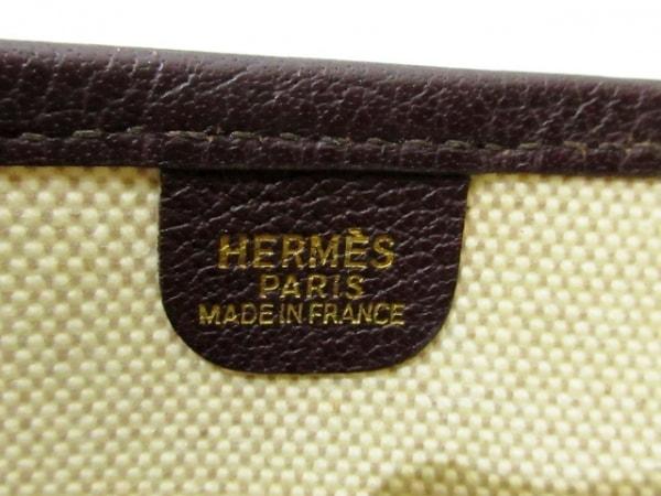 HERMES(エルメス) ショルダーバッグ エブリンGM アイボリー×ダークブラウン
