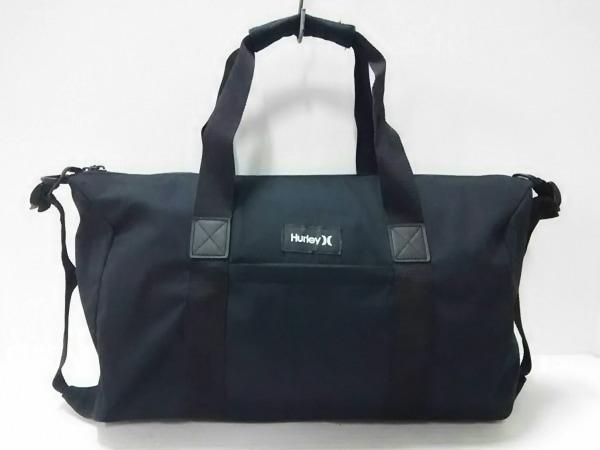 Hurley(ハーレー) ボストンバッグ美品  黒 ナイロン