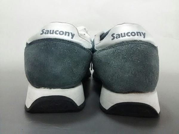 SAUCONY(サッカニー) スニーカー メンズ ダークグレー スエード×ナイロン