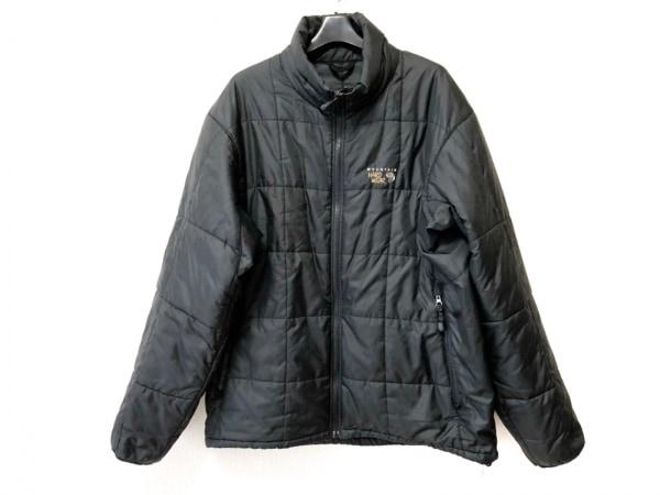 MountainHardwear(マウンテンハードウェア) ダウンジャケット サイズXL メンズ 黒