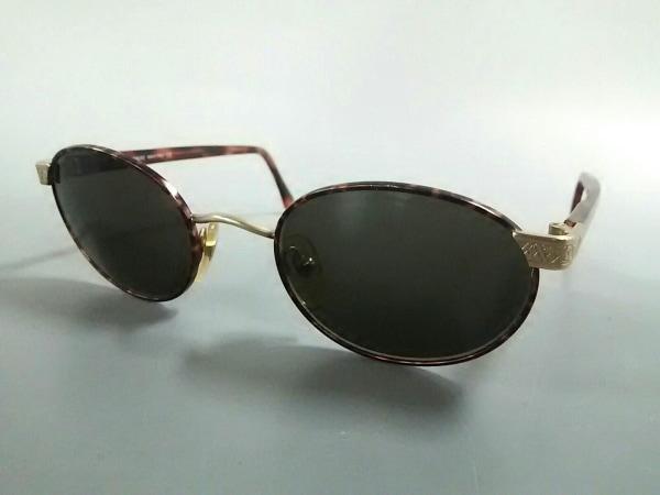 ジョルジオアルマーニ サングラス 633 ブラウン×ゴールド プラスチック×金属素材