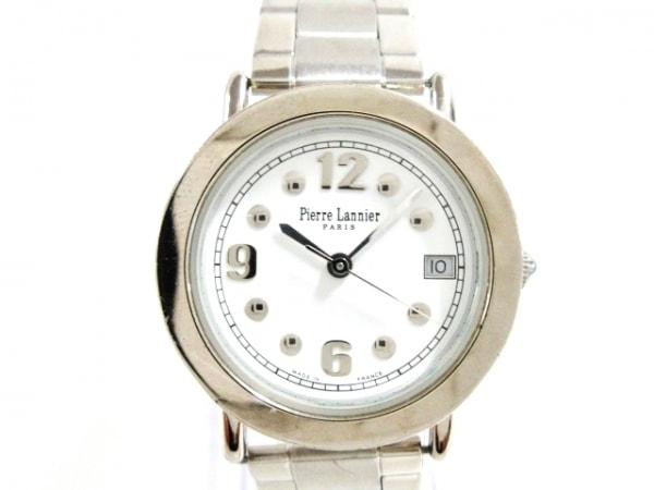 PierreLannier(ピエールラニエ) 腕時計美品  - レディース 白