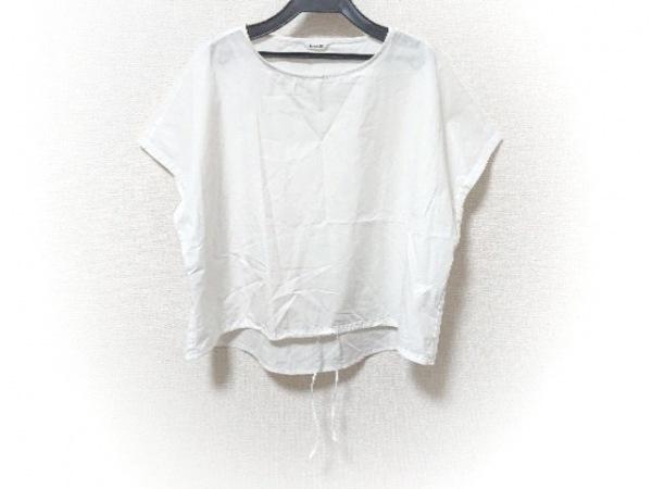 le glazik(グラジック) カットソー サイズ36 S レディース美品  白