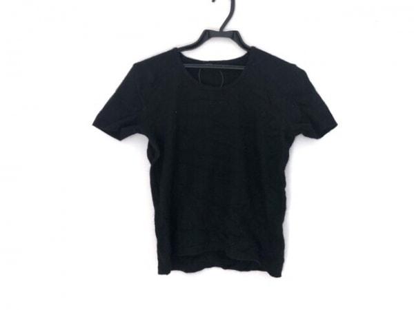INGEBORG(インゲボルグ) 半袖セーター レディース 黒