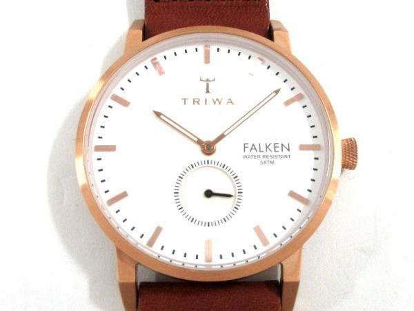 TRIWA(トリワ) 腕時計 - メンズ FALKEN 白