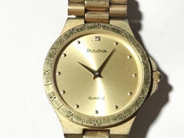 Bulova(ブローバ) 腕時計 - レディース ゴールド