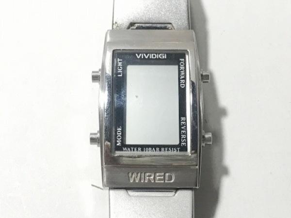 WIRED(ワイアード) 腕時計 W510-4A00 レディース シルバー