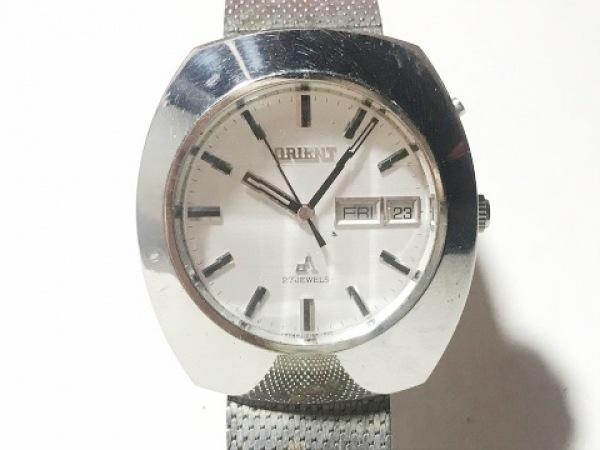ORIENT(オリエント) 腕時計 F429-21960 メンズ シルバー