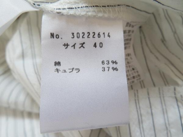 慈雨(ジウ/センソユニコ) チュニック サイズ40 M レディース 白×グレー×黒