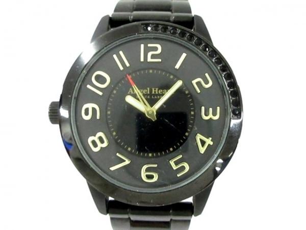 Angel Heart(エンジェルハート) 腕時計 BK37 メンズ ラインストーン 黒