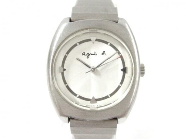 agnes b(アニエスベー) 腕時計 V701-2040 レディース 白