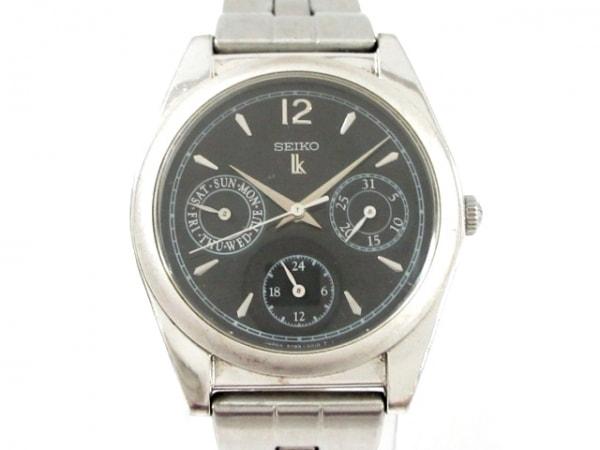 SEIKO(セイコー) 腕時計 ルキア 5Y89-0A10 メンズ トリプルカレンダー 黒
