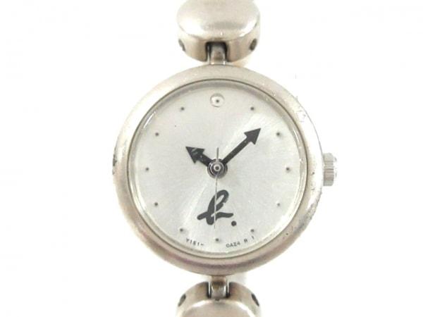 agnes b(アニエスベー) 腕時計 Y151-0AN0 レディース シルバー