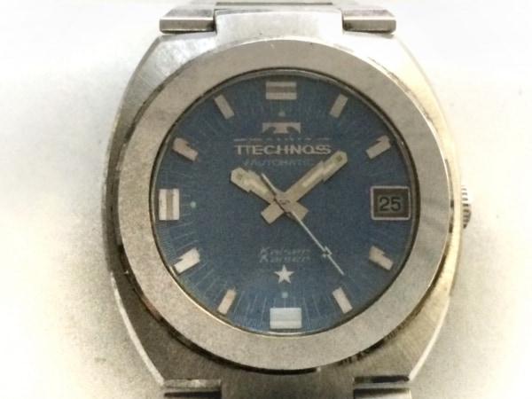 TECHNOS(テクノス) 腕時計 Kaiser - メンズ パープル