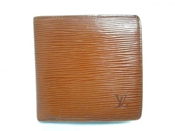 ルイヴィトン 2つ折り財布 エピ ポルト ビエ・カルト クレディ モネ M63543