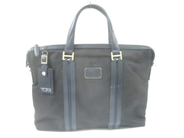 TUMI(トゥミ) ビジネスバッグ 68415DNYE 黒×ネイビー ナイロン×レザー