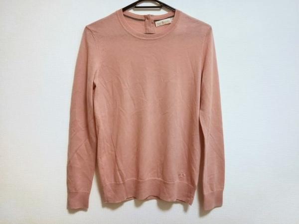 TORY BURCH(トリーバーチ) 長袖セーター サイズS レディース美品  ピンク
