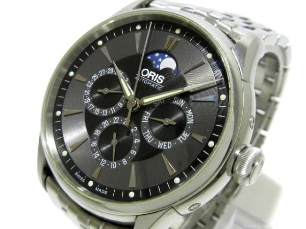 ORIS(オリス) 腕時計 アートリエ コンプリケーション 7592 メンズ 黒