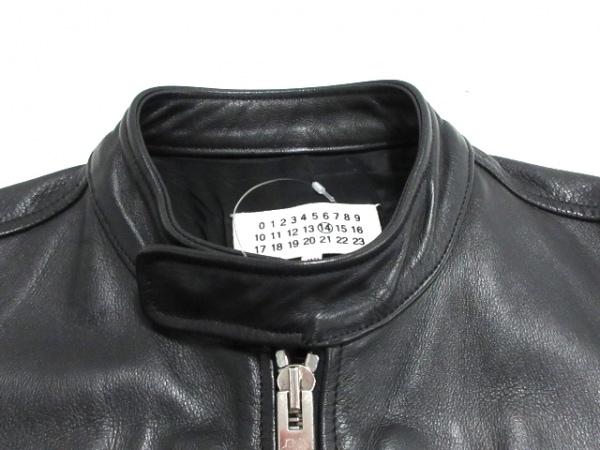 マルタンマルジェラ ライダースジャケット サイズ44 M メンズ S50AM0217 黒