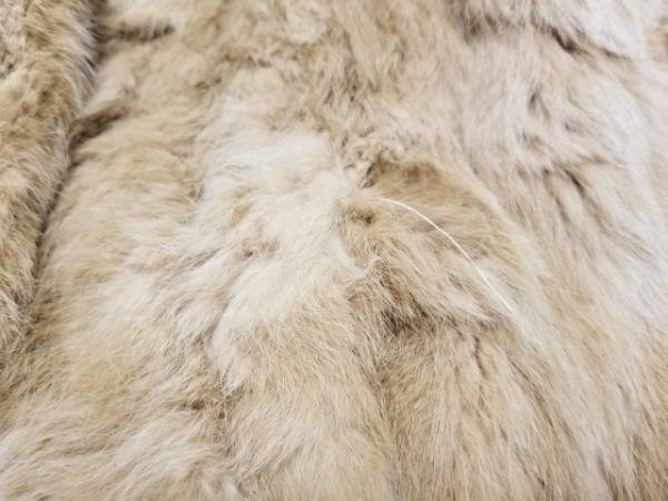 ジルバイジルスチュアート コート サイズS レディース美品  ブラウン ラビットファー