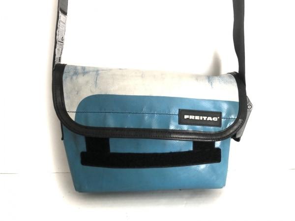 FREITAG(フライターグ) ショルダーバッグ ライトブルー×ライトグレー×マルチ