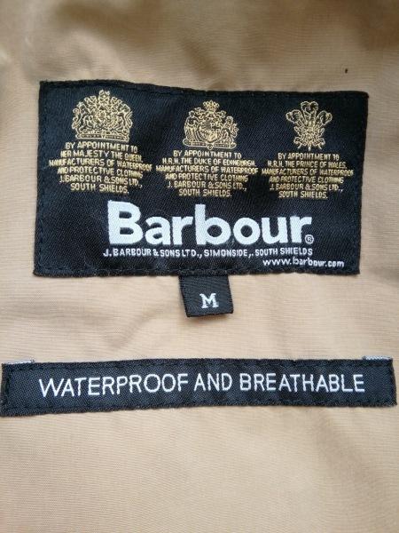 Barbour(バーブァー) コート サイズM メンズ ベージュ 冬物