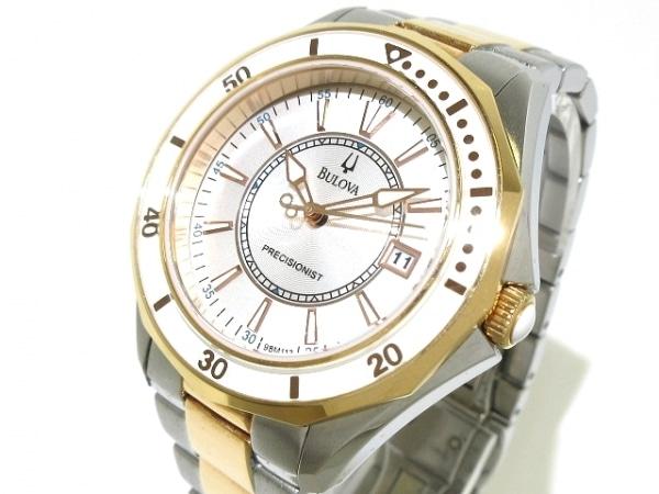 Bulova(ブローバ) 腕時計 プレシジョニスト C4607000 メンズ シルバー