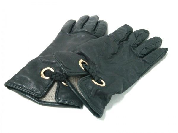 PIUMELLI(ピュメリ) 手袋 7 レディース グレー レザー