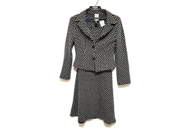 Sybilla(シビラ) ワンピーススーツ サイズM レディース美品  黒×白 ドット柄