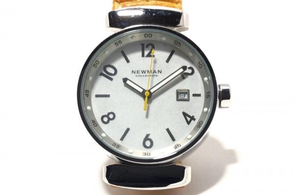 NEWMAN(ニューマン) 腕時計 - レディース 型押し加工 白