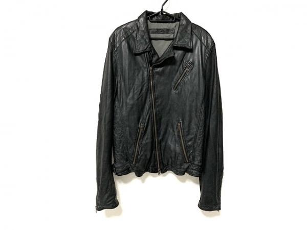 DROMe(ドローム) ライダースジャケット サイズS メンズ 黒 春・秋物/レザー