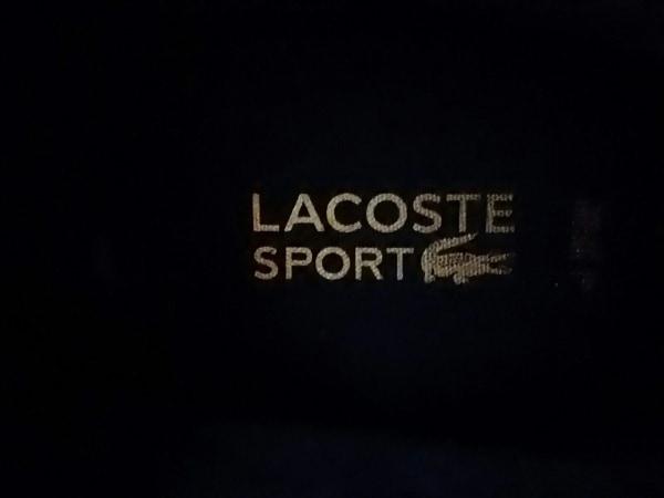 Lacoste(ラコステ) スニーカー レディース 黒×ゴールド ハイカット レザー