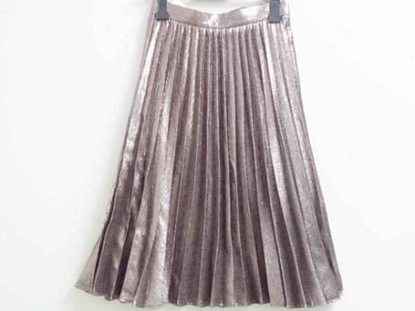 ROBERTO COLLINA(ロベルトコリーナ) スカート サイズXS レディース美品  ピンク ラメ