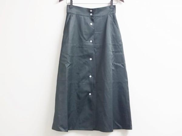 デザインワークス 巻きスカート サイズ36 S レディース美品  カーキ ロング丈