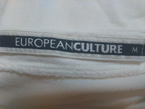 EUROPEAN CULTURE(ヨーロピアンカルチャー) 長袖Tシャツ サイズM レディース 白