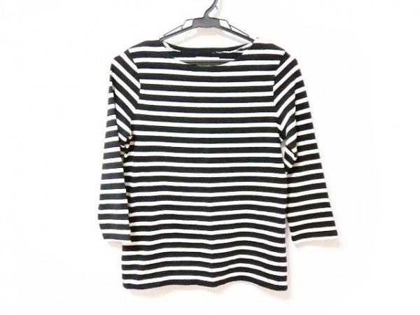 ラルフローレンデニム&サプライ 七分袖Tシャツ サイズXS レディース新品同様  黒×白