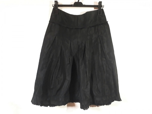 Max Mara(マックスマーラ) スカート サイズ42 M レディース美品  黒
